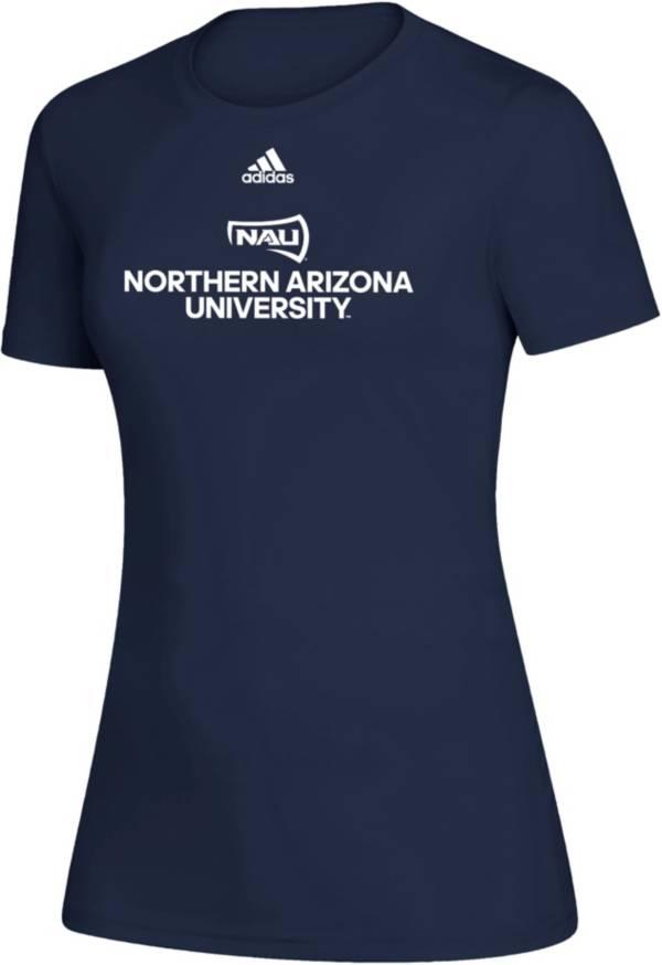 adidas Women's Northern Arizona Lumberjacks Creator Blue T-Shirt product image