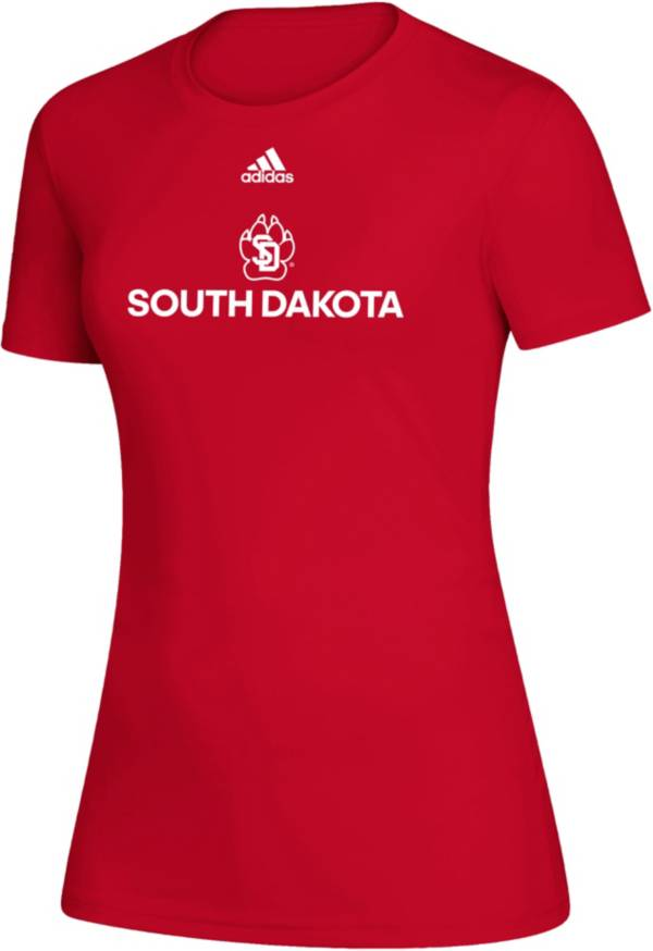 adidas Women's South Dakota Coyotes Creator Red T-Shirt product image