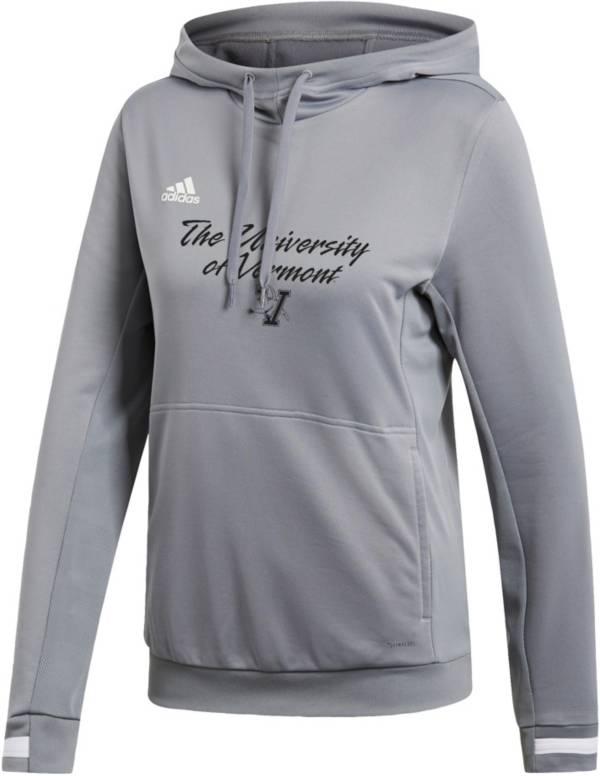 adidas Women's Vermont Catamounts  Grey Hoodie product image