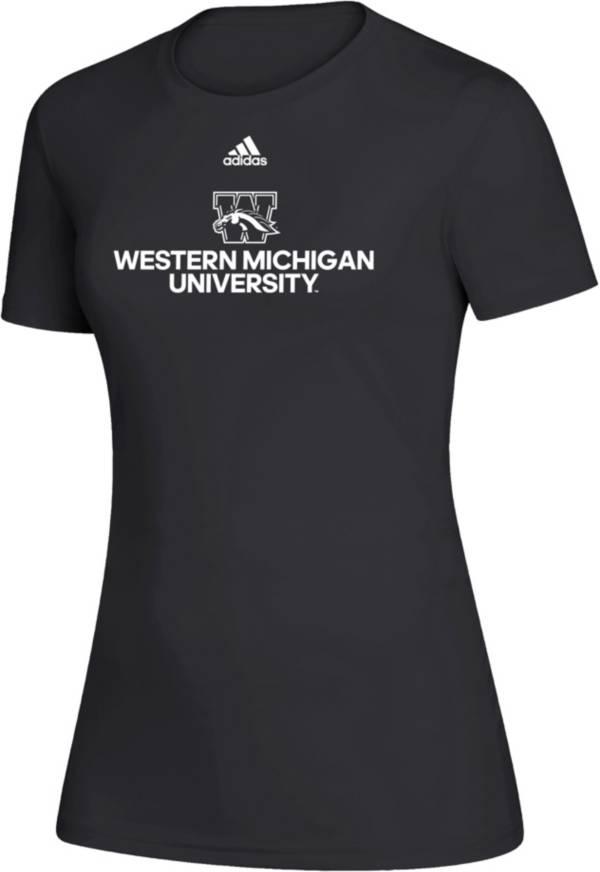 adidas Women's Western Michigan Broncos Creator Black T-Shirt product image