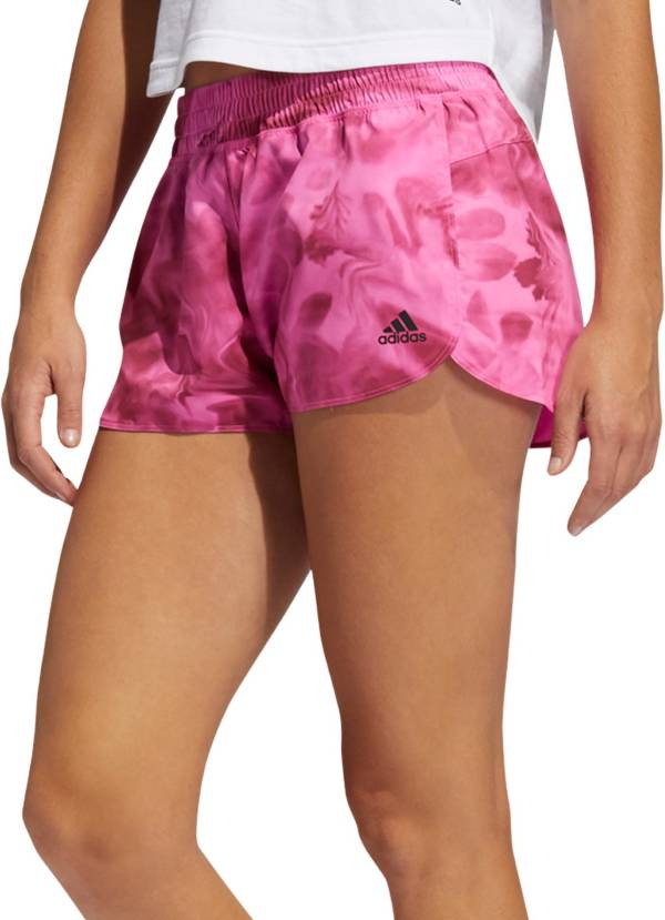 adidas Women's Pacer X-Ray Floral Print Shorts product image