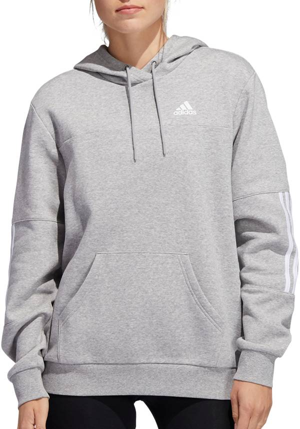 adidas Women's Post Game 3-Stripe Pullover Hoodie product image