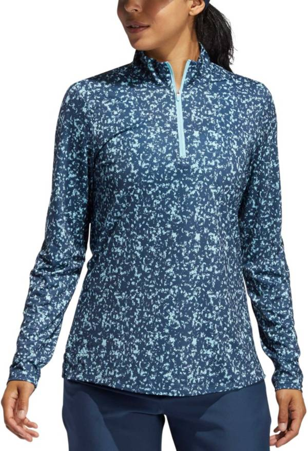 adidas Women's Printed AERO.READY Quarter Zip Pullover product image