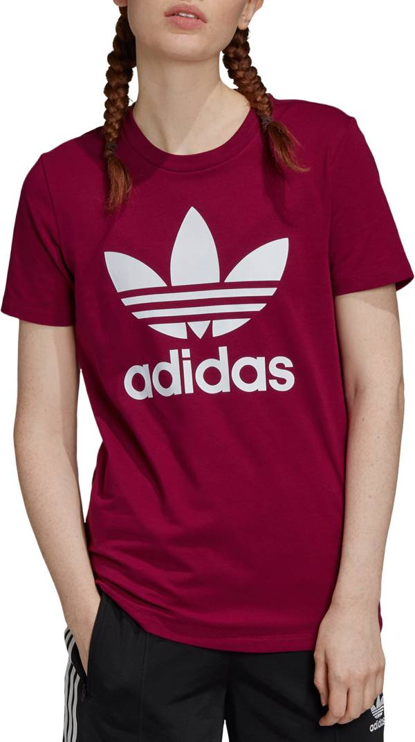 adidas Women's Boyfriend Trefoil T-Shirt (Regular and Plus) product image