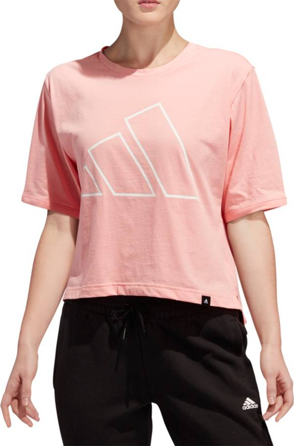 adidas Women's The Pack Universal Graphic Cropped T-Shirt product image