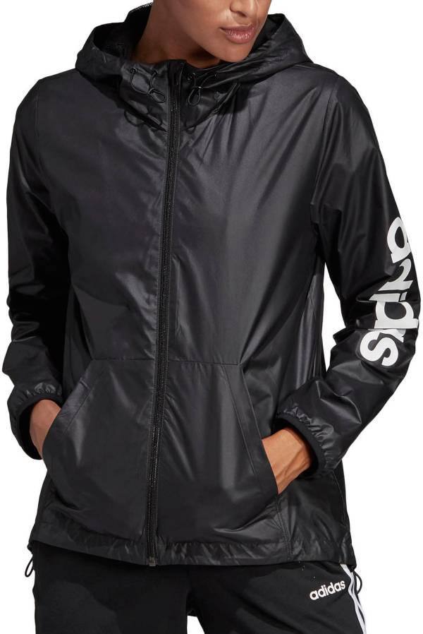 adidas Women's Essentials Linear Windbreaker product image