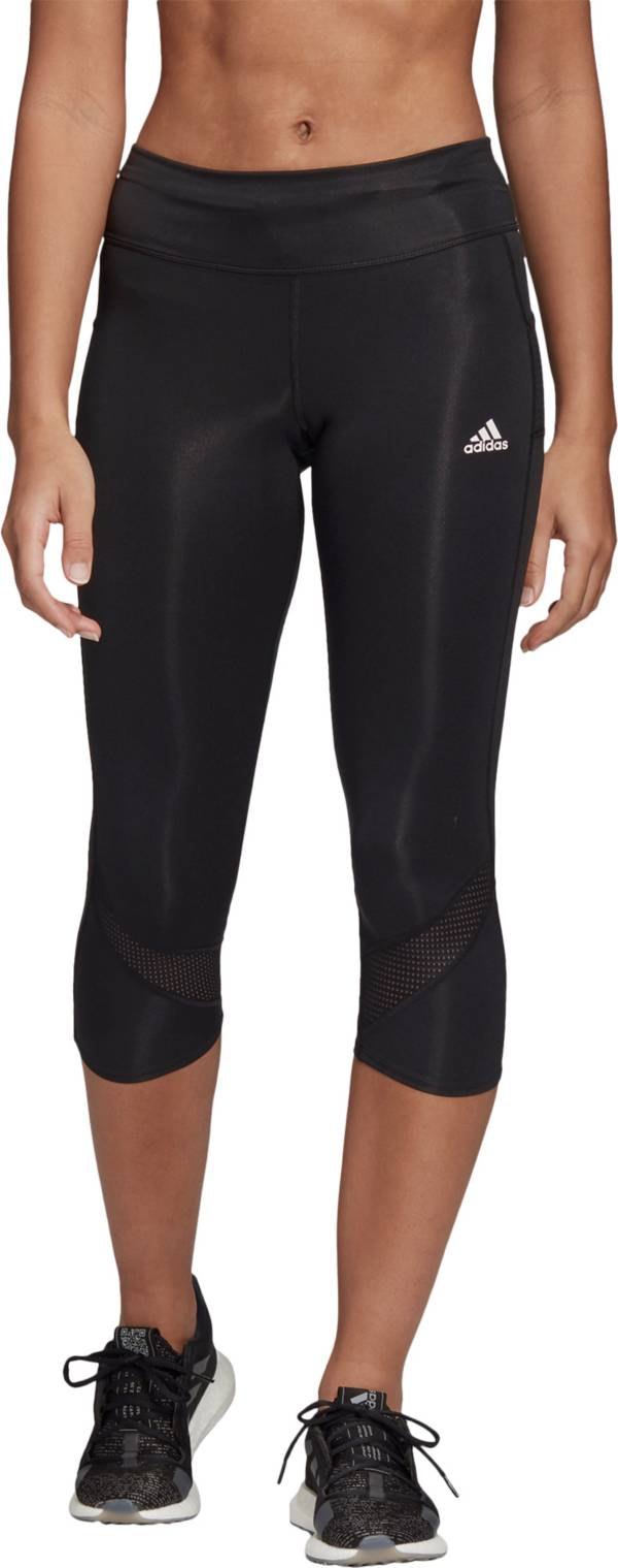 adidas Women's Own The Run 3/4 Length Tights product image