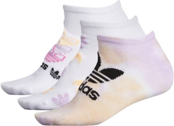 adidas Women's Originals Color Wash No Show Socks 3 Pack product image