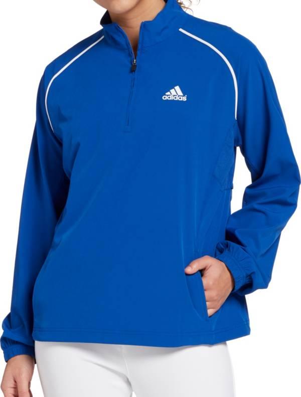 adidas Women's Triple Stripe Long Sleeve Woven Softball Jacket product image