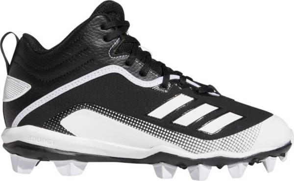 adidas Kids' Icon 6 MD Mid Baseball Cleats product image