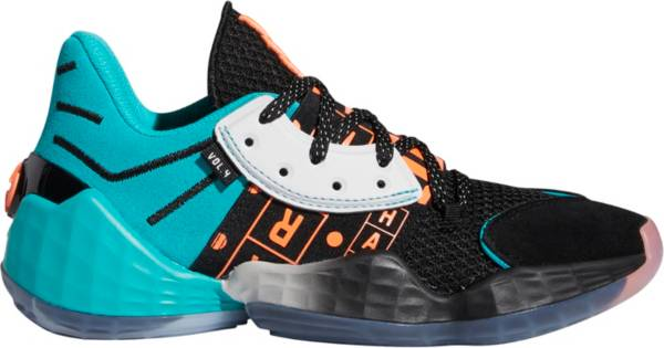 adidas Kids' Grade School Harden Vol. 4 Basketball Shoes product image