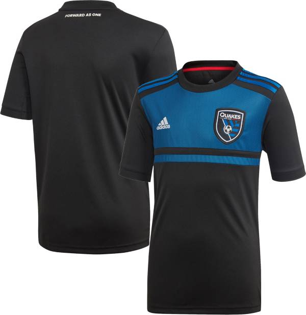 adidas Youth San Jose Earthquakes '19 Primary Replica Jersey product image