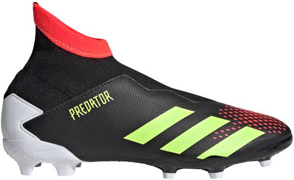 adidas Kids' Predator 20.3 FG Laceless Soccer Cleats product image