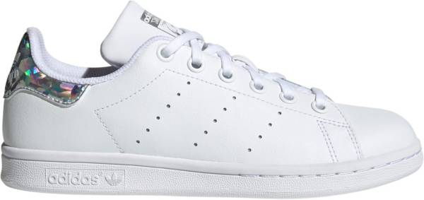 adidas Originals Kids' Grade School Stan Smith Iridescent Shoes product image