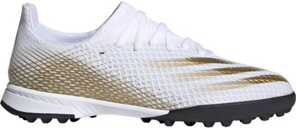 adidas Kids' X Ghosted.3 Turf Soccer Cleats product image