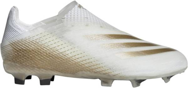 adidas Kids' X Ghosted + Laceless FG Soccer Cleats product image