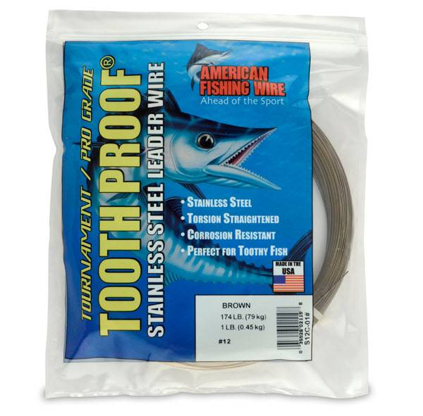 AFW ToothProof Stainless Steel Single Strand Leader product image