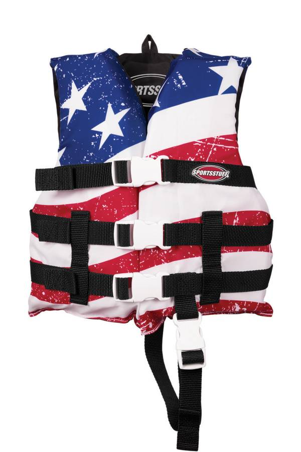 AIRHEAD Child's General Purpose Stars and Stripes Life Vest product image