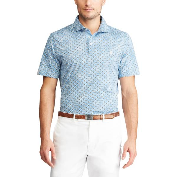 RLX Golf Men's Classic Fit Print Jersey Golf Polo product image