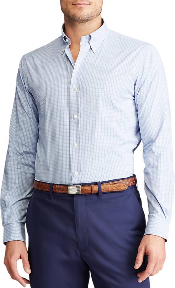 Ralph Lauren Men's Performance Oxford Long Sleeve Golf Shirt product image