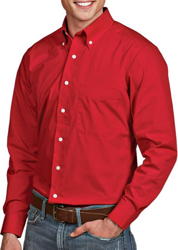 Antigua Men's Dynasty Button Down Long Sleeve Shirt product image