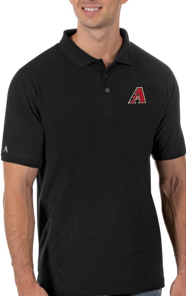 Antigua Men's Arizona Diamondbacks Black Legacy Polo product image
