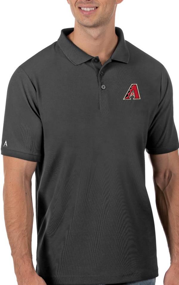 Antigua Men's Arizona Diamondbacks Gray Legacy Polo product image