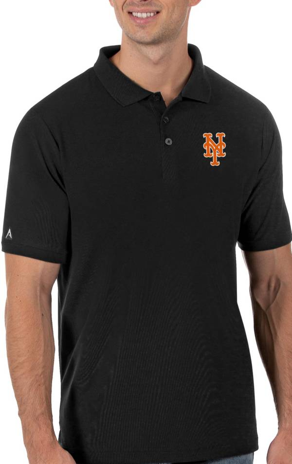 Antigua Men's New York Mets Black Legacy Polo product image