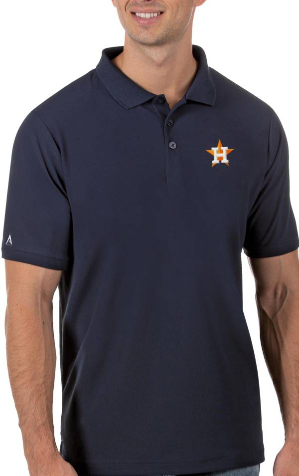 Antigua Men's Houston Astros Navy Legacy Polo product image
