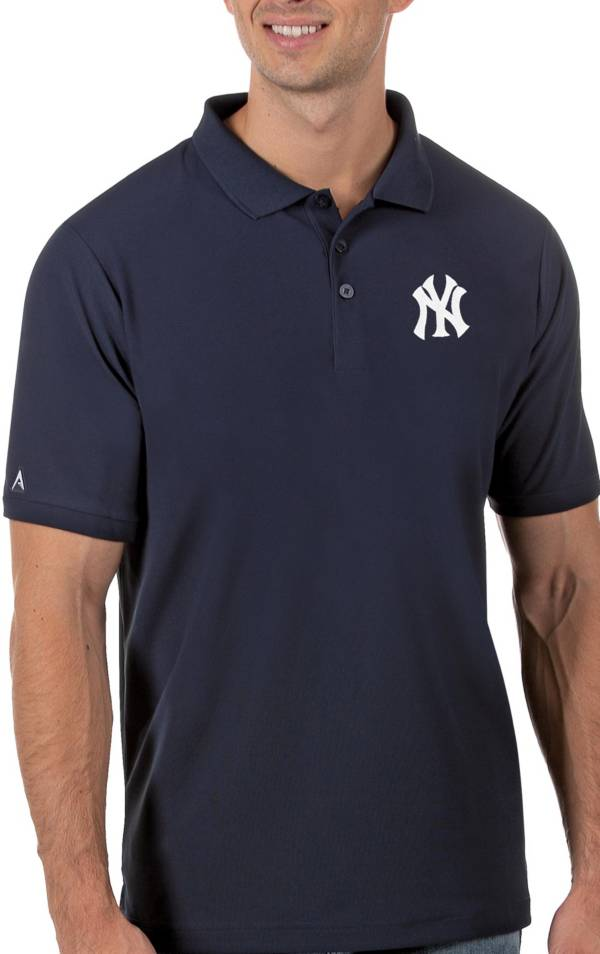 Antigua Men's New York Yankees Navy Legacy Polo product image