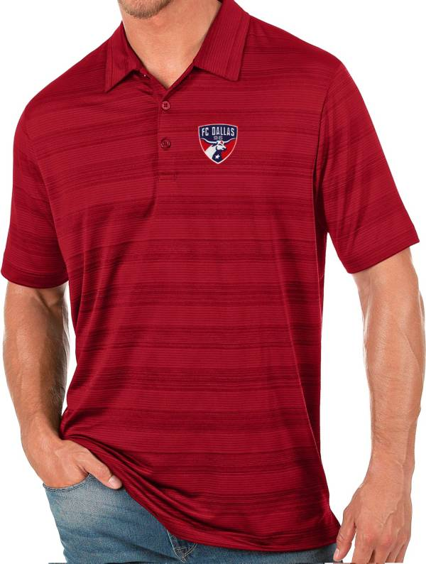 Antigua Men's FC Dallas Red Compass Polo product image