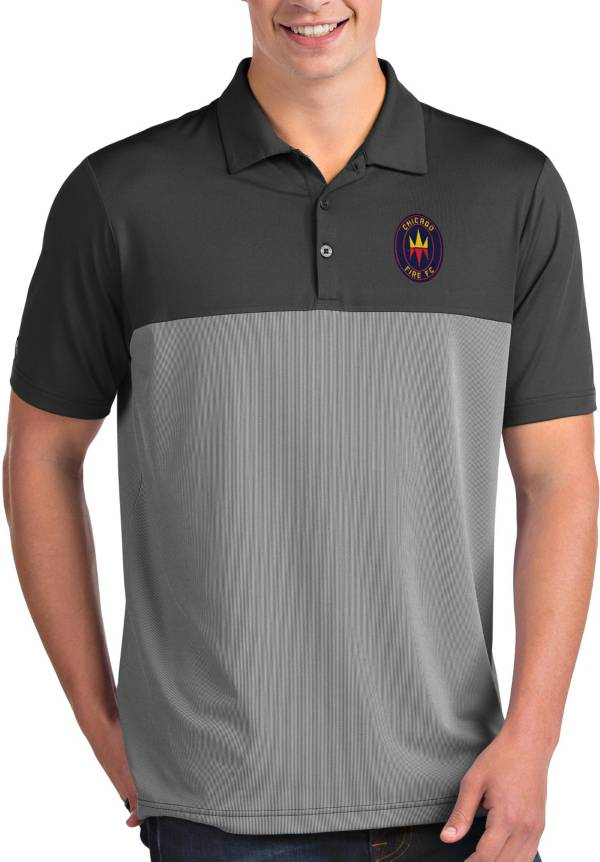 Antigua Men's Chicago Fire Grey Venture Polo product image