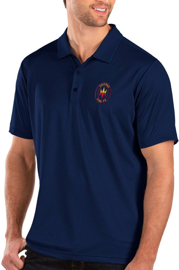 Antigua Men's Chicago Fire Navy Balance Polo product image
