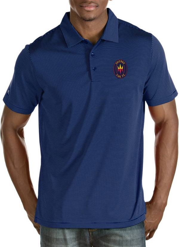 Antigua Men's Chicago Fire Navy Quest Polo product image