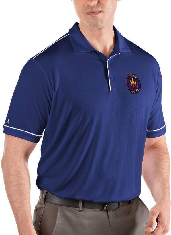 Antigua Men's Chicago Fire Navy Salute Polo product image
