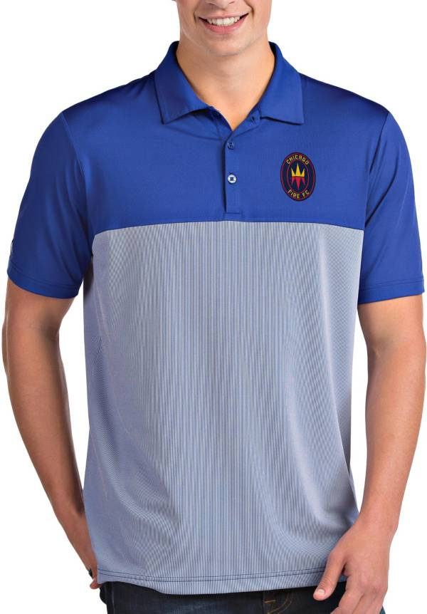 Antigua Men's Chicago Fire Navy Venture Polo product image