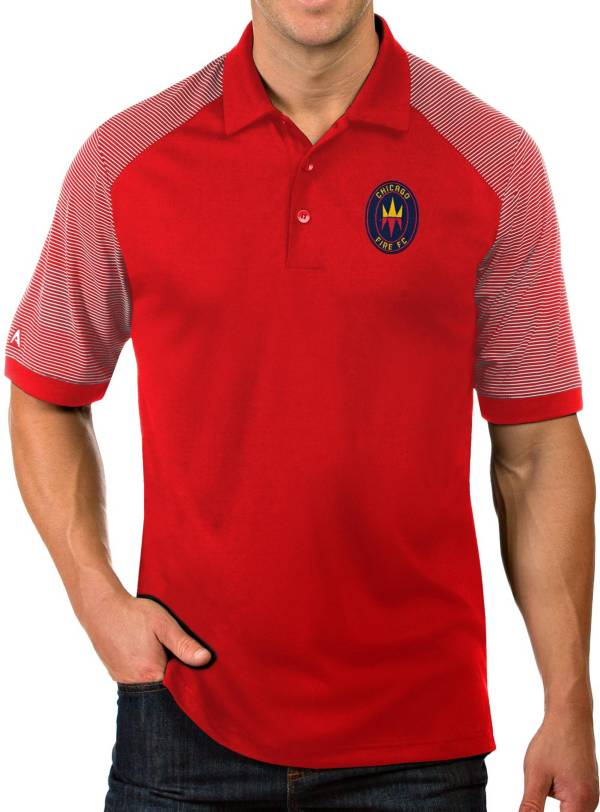 Antigua Men's Chicago Fire Red Engage Polo product image