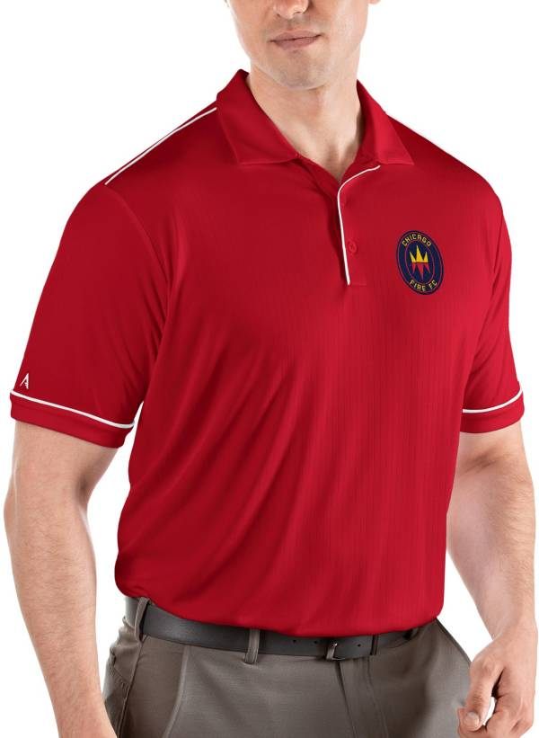 Antigua Men's Chicago Fire Red Salute Polo product image