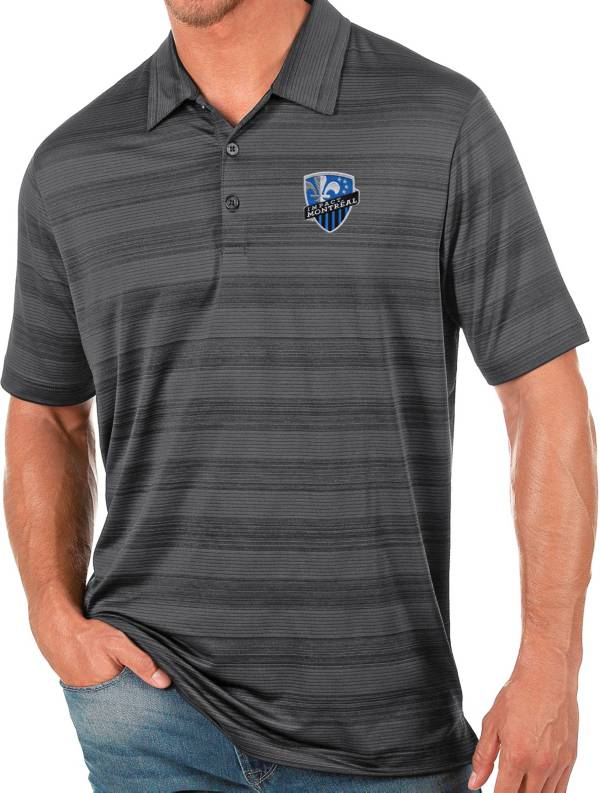 Antigua Men's Montreal Impact Gray Compass Polo product image