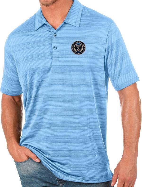 Antigua Men's Philadelphia Union Blue Compass Polo product image