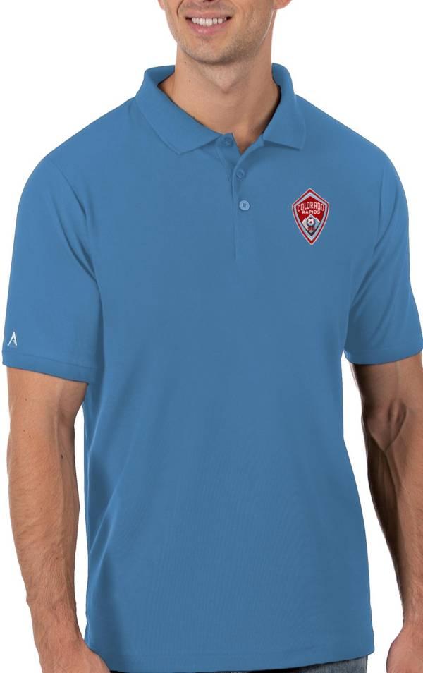 Antigua Men's Colorado Rapids Blue Legacy Pique Polo product image