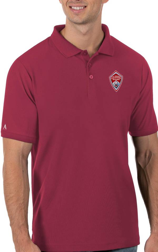Antigua Men's Colorado Rapids Red Legacy Pique Polo product image