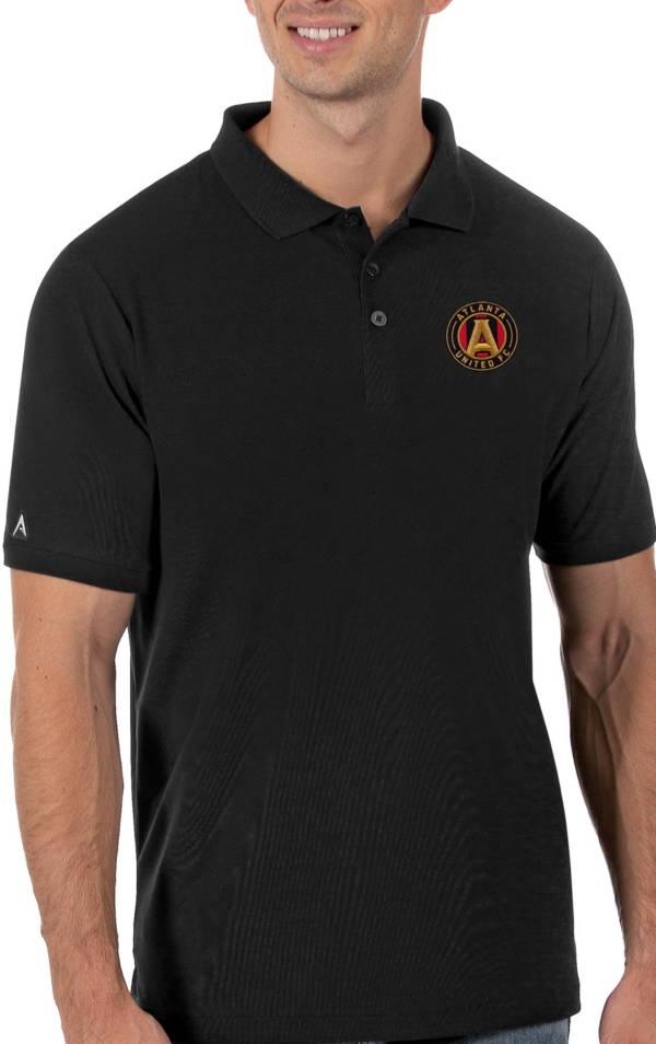 Antigua Men's Atlanta United Black Legacy Pique Polo product image