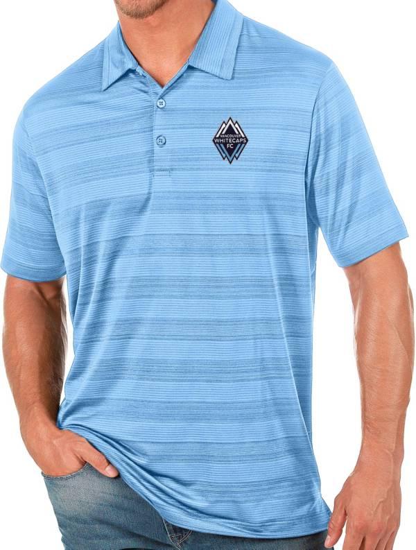 Antigua Men's Vancouver Whitecaps Blue Compass Polo product image