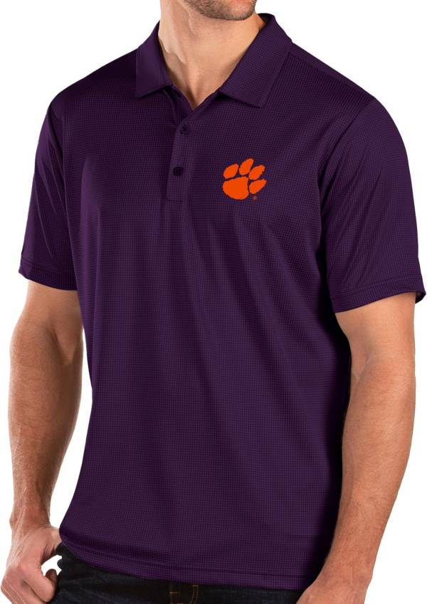 Antigua Men's Clemson Tigers Regalia Balance Polo product image