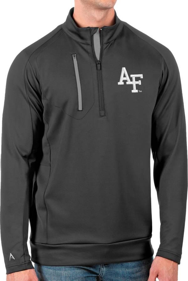 Antigua Men's Air Force Falcons Grey Generation Half-Zip Pullover Shirt product image