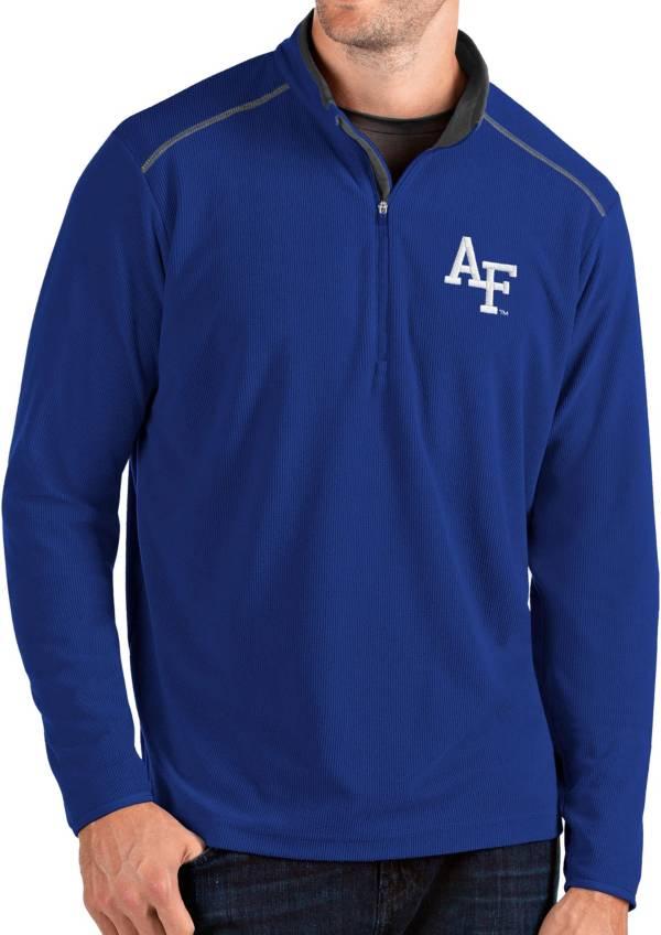 Antigua Men's Air Force Falcons Blue Glacier Quarter-Zip Shirt product image