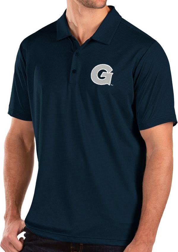 Antigua Men's Georgetown Hoyas Blue Balance Polo product image