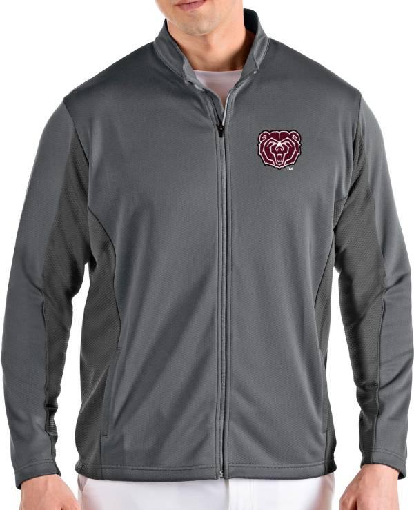 Antigua Men's Missouri State Bears Grey Passage Full-Zip Jacket product image