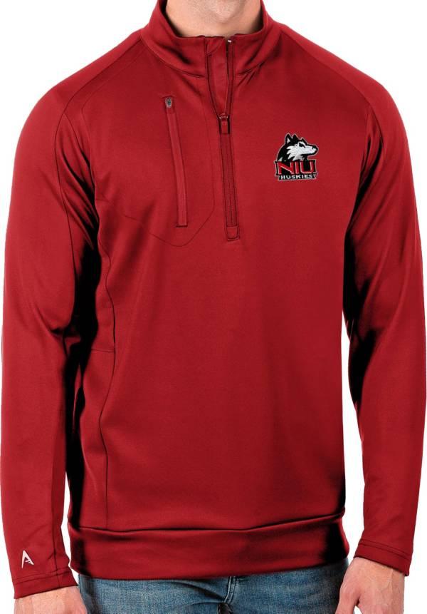 Antigua Men's Northern Illinois Huskies Cardinal Generation Half-Zip Pullover Shirt product image